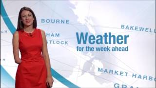 Repeat youtube video Amputee Woman RBE Lucy Martin - Weather Girl 05Sep2016