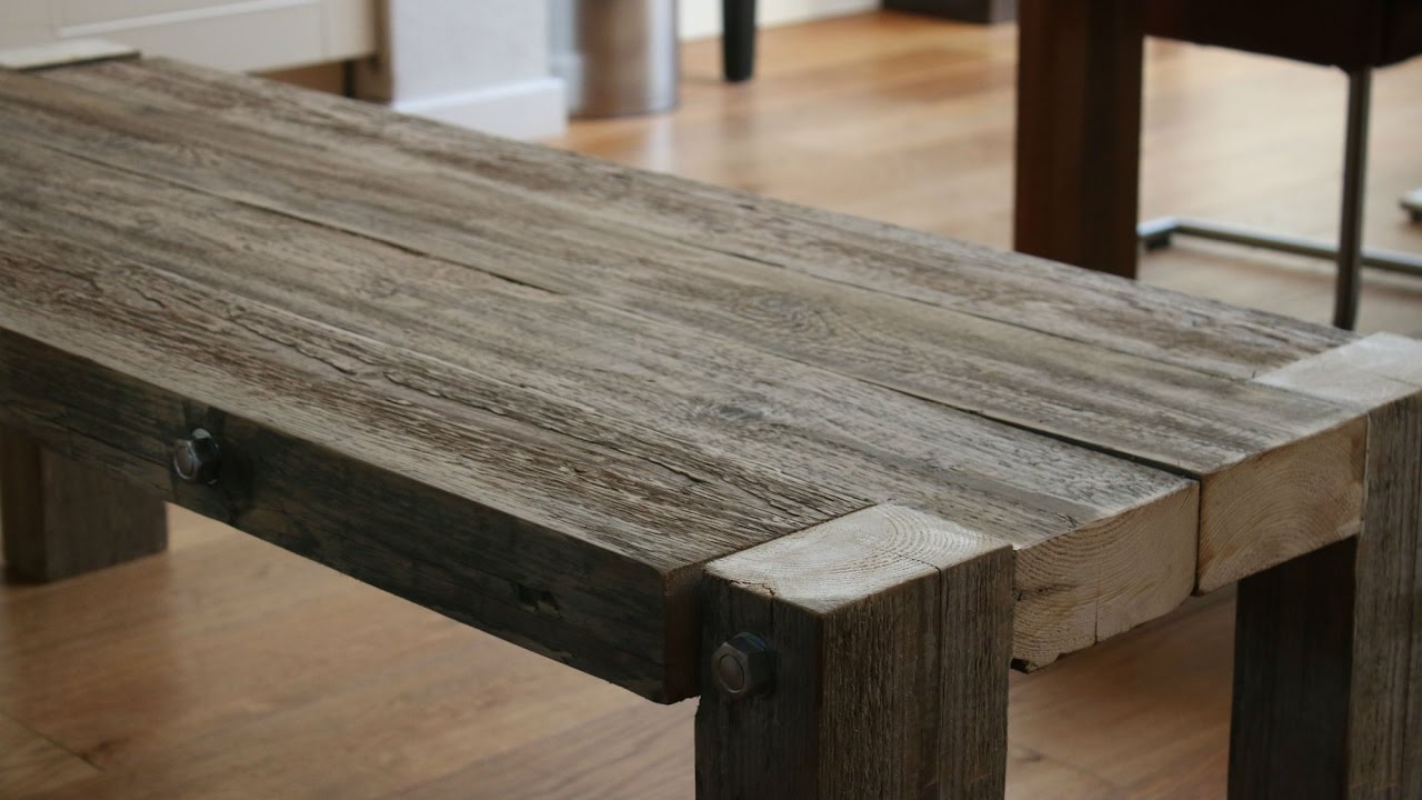 Reclaimed Coffee Table Mostly Wood