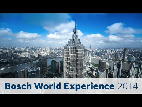 Bosch World Experience 2014: View from the Shanghai World Financial Center