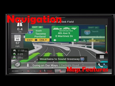 Pioneer AVIC Navigation Settings and Features in Depth