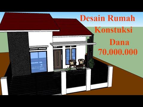 Desain Rumah Minimalis 7x9 Meter Serta Konstruksi Dan ...