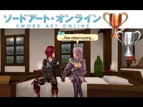 Sword Art Online: Hollow Fragment - PS VITA - Raise Your Bond Trophy Guide + Chat Mini Game