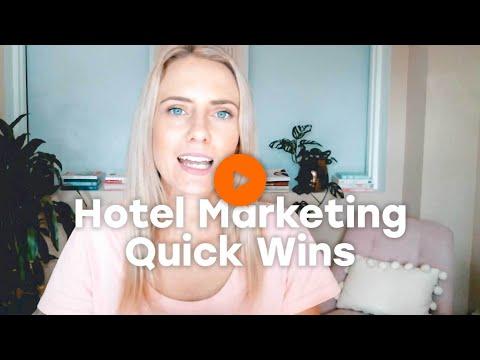 Katie's Hotel Marketing Quick Wins