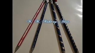 DIY: Makeup Brush /Cum sa ti faci singur pensule de machiaj  plus machiaj cu ele