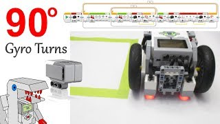 Program Accurate 90 Degree Turns with the EV3 Gyro Sensor