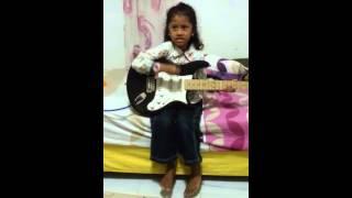 Evra & d guitar
