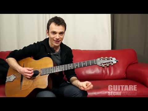 gypsy jazz guitar lesson : I'll see you in my dreams , django chorus