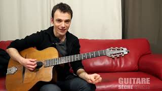 gypsy jazz guitar lesson : I