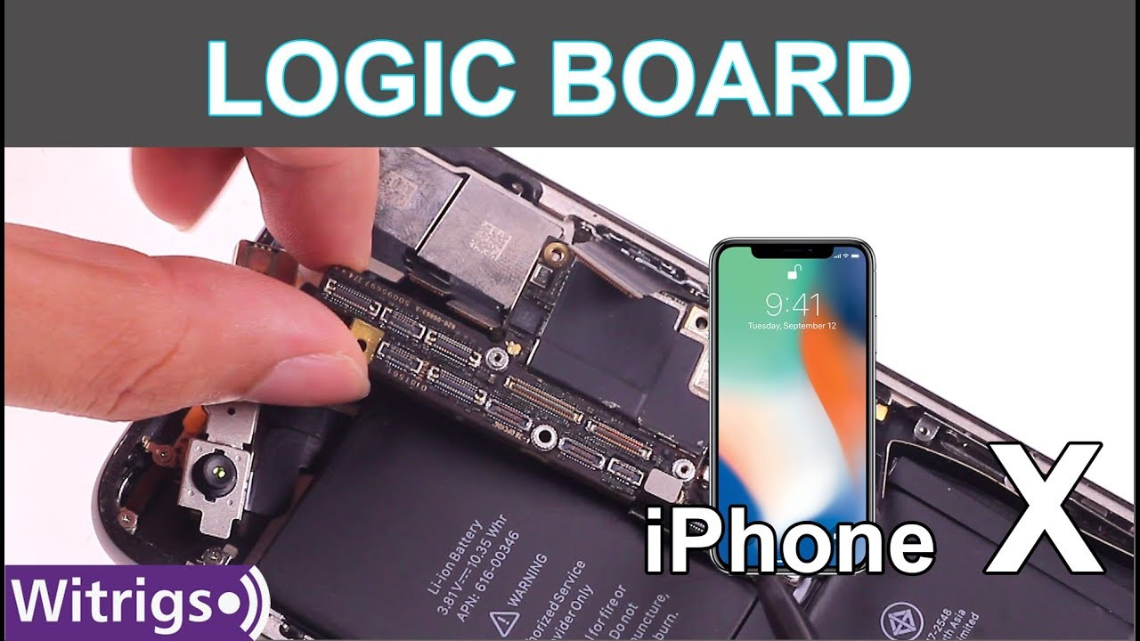 on sale e84c1 b0398 iPhone X Motherboard Replacement