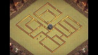 Th10 war base | Th10 anti 3 stars | Th10 base de guerra | Diseño de aldea | Clash of clans