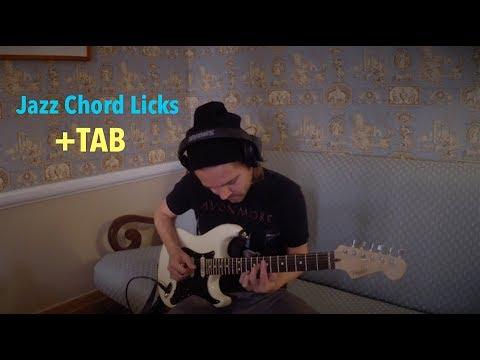 2-5-1 Jazz Chord Licks (G)