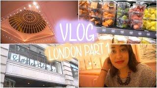 Vlog Londres Part. 1 ❤ Afternoon Tea à Sketch