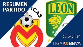 Resumen Y Goles | Morelia Vs León | Jornada 4 - Clausura 2020 | Liga Bbva Mx