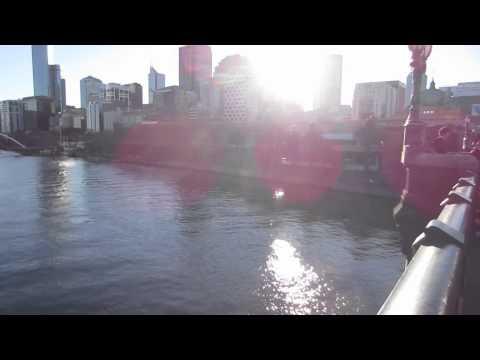 Melbourne City Center - Yarra River