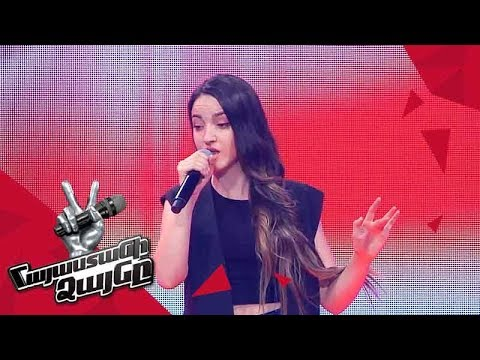 Anjela Ghalechyan sings 'Hello' - Blind Auditions - The Voice of Armenia - Season 4