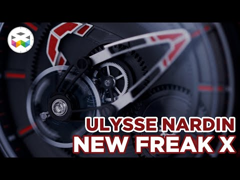 Ulysse Nardin Presents Its New Freak X Timepieces