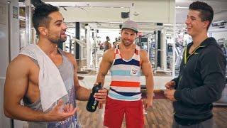 Fitnesstrends & Klimmzüge mit Simon und Philipp