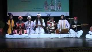 Arman Fakir performing at India Habitat Center, Delhi.mpg