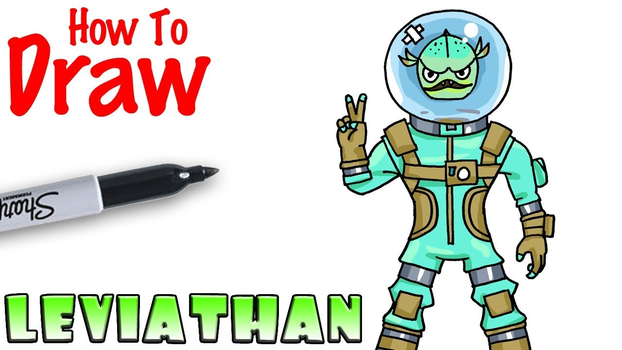 How To Draw Leviathan Fortnite Youtube