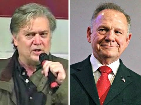 Genius Steve Bannon: Roy Moore Would've Won!