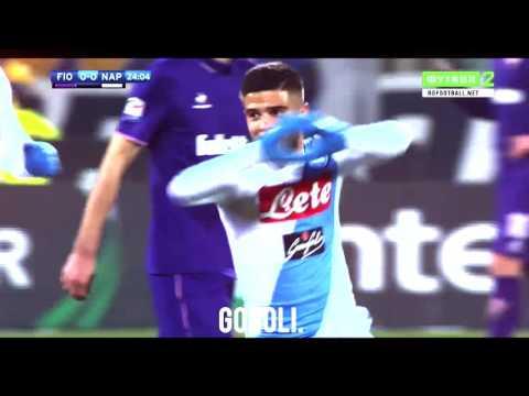 Insigne Goal Vs Fiorentina