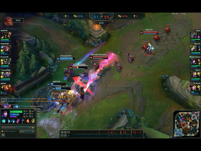 [LeagueOfLegends] [Ahri] Triple hightlight