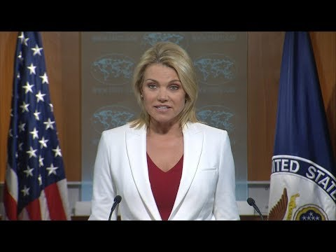 US State Department briefing following President Trump's North Korea warning