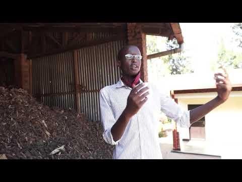 "GYVC 2018   Fabrice, Rwanda ""Sustainable Briquettes""   Responsible production & consumption"