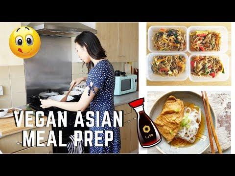MY WEEKLY VEGAN ASIAN MEAL PREP!!