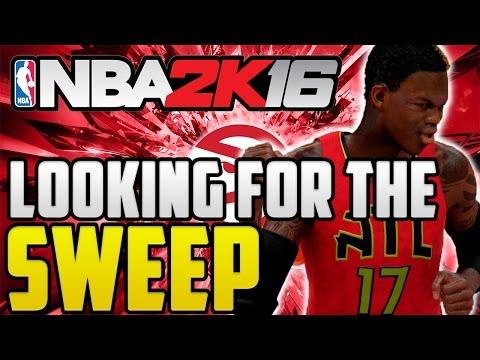 NBA 2K16 Atlanta Hawks MyGM Gameplay Ep 25 - Playoffs Round 2 Game 4 (Season 1) PS4