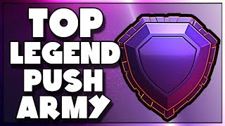 BEST Army to Push Legends League | Lets Test Things Out | Clash of Clans