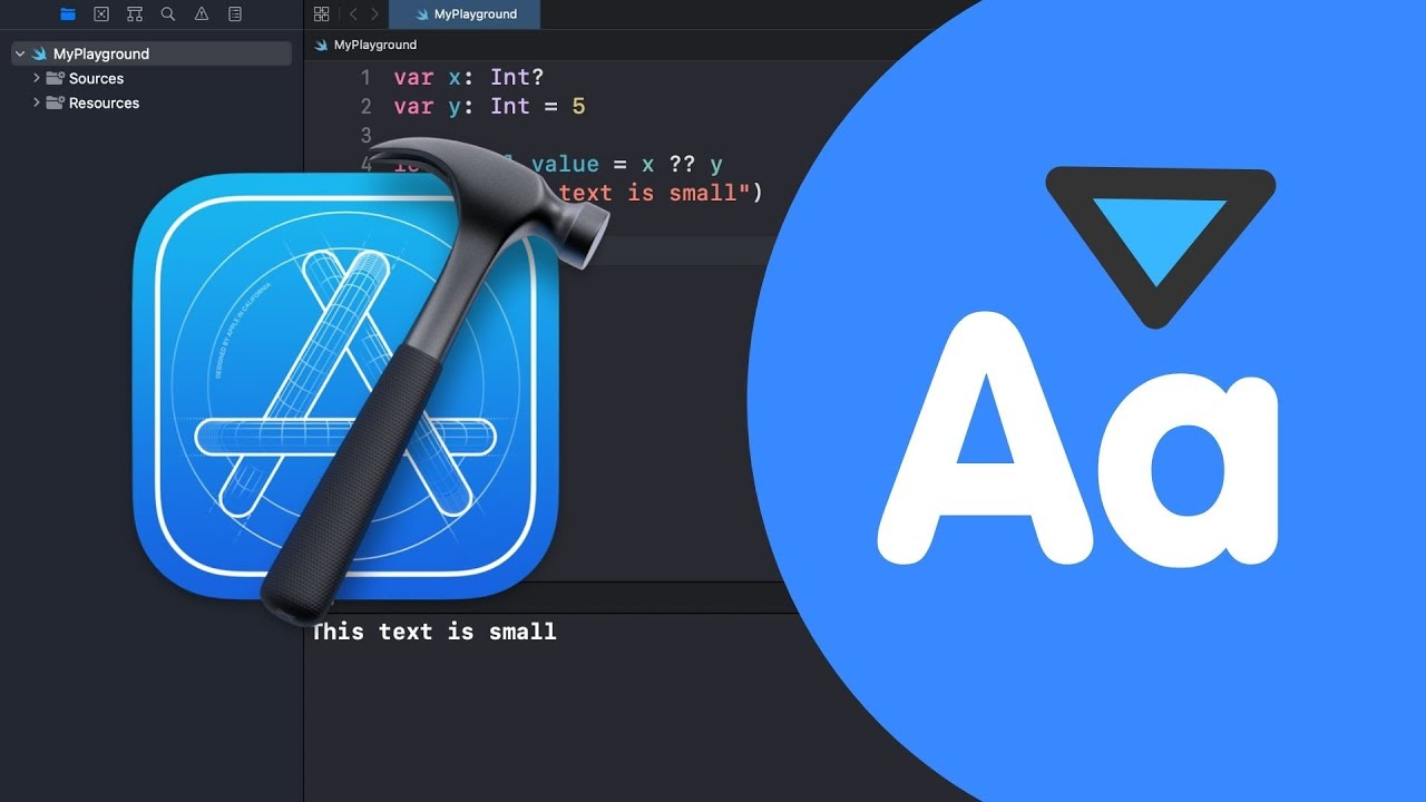 How to change the Font Size & Theme in Xcode
