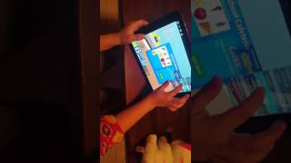 Taylor playing roblox