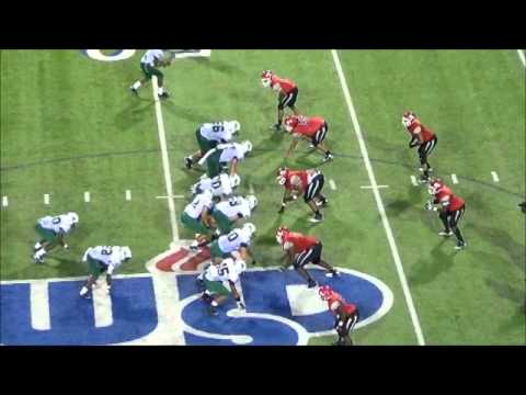 Andrew Billings - 2012 Early Season Football Highlights - Waco High School