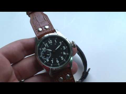 Parnis Pilot watch review similar to $15k IWC big pilot ...
