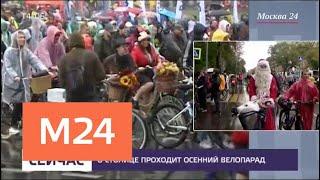 35 тысяч человек проехали по столице под проливным дождем - Москва 24