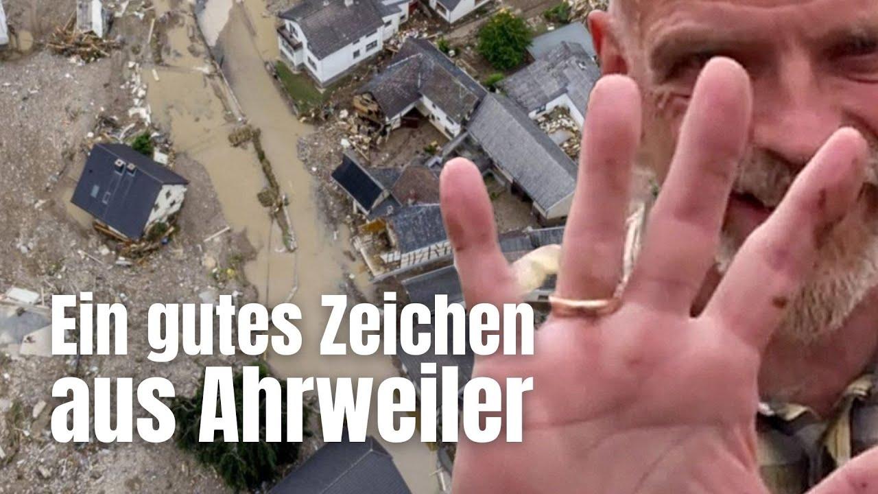 Wir stehen wieder auf - ein gutes Zeichen aus Ahrweiler
