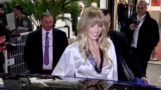 EXCLUSIVE : Petra Nemcova arriving at the back of the Palais in Cannes