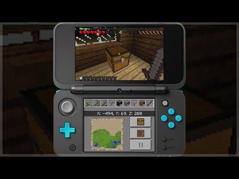 Minecraft 3ds Edition Official Gameplay Minecraft Nintendo 3ds