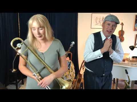 Download Live jazz! Maj 2021, Max, Petronella, Aina, Gerd och Herman Carling 👏😊