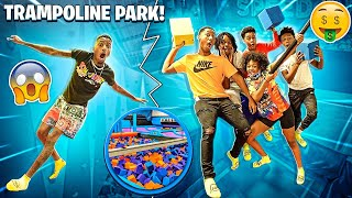 WE HAD A FUN DAY AND RENTED OUT THE ENTIRE TRAMPOLINE PARK!