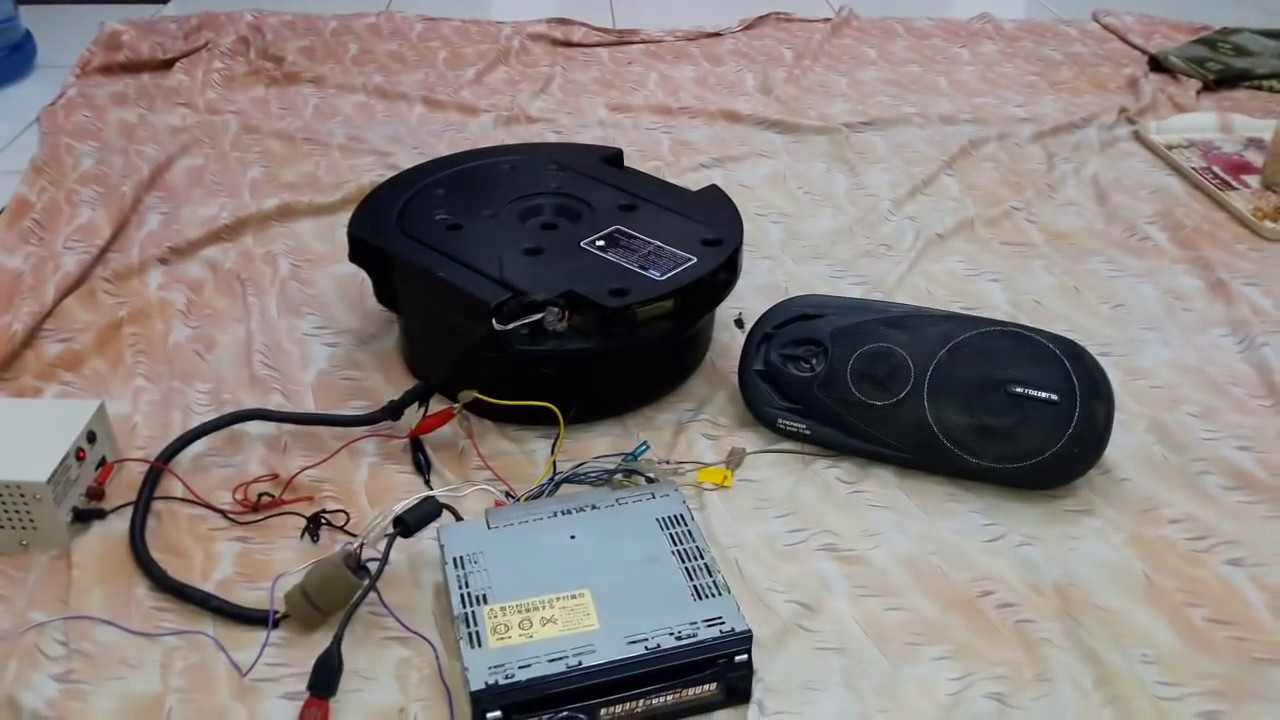 maxresdefault bose car subwoofer spare tyre ritch bass youtube bose spare tire subwoofer wiring diagram at gsmx.co