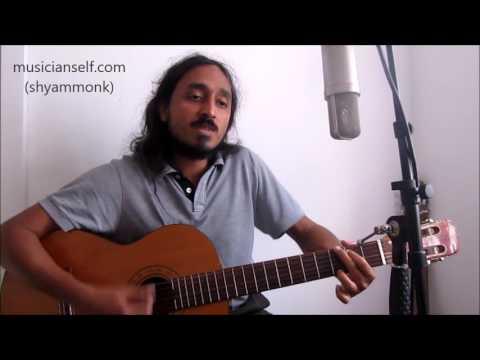 Inder Singt Peter (Maffay) Unplugged Akustisch: Über sieben brücken Rhythmus Gitarre Akkorde
