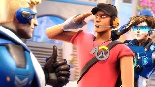The Scout Plays Overwatch!