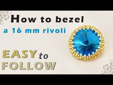 how to bezel a 16 mm rivoli
