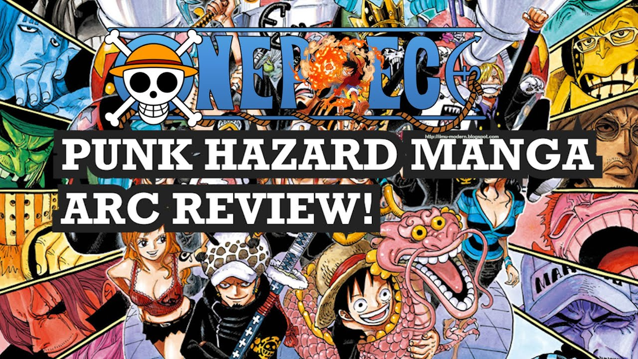 ONE PIECE MANGA PUNK HAZARD ARC REVIEW! - YouTube