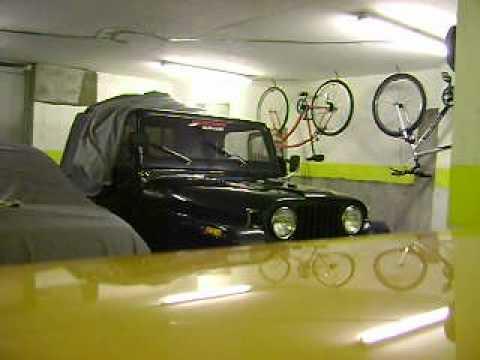 Bocina Dukes Hazzard en Jeep CJ7 Uruguay