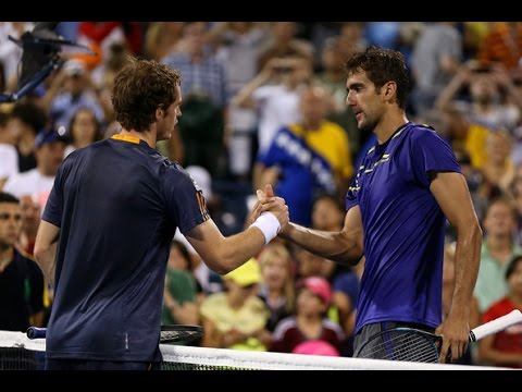 Andy Murray VS Marin Cilic Highlight 2012 QF