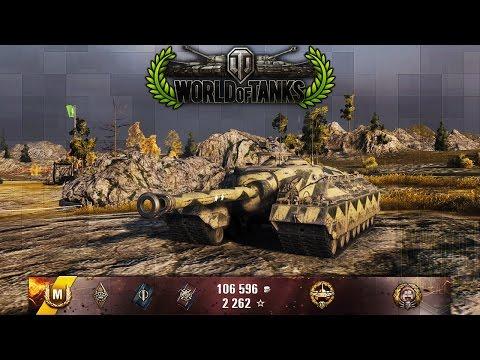 World of Tanks - T95 - 5 Kills - 9.9k Damage -...