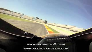 Un giro con Alex De Angelis a Valencia